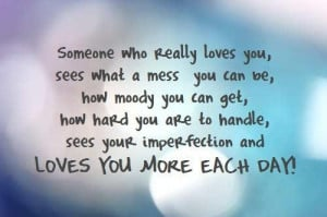 ... who really loves yousees what a mess you can be being in love quote