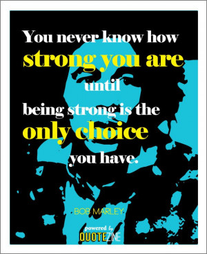 Our Interpretation: No matter how great the odds against you, you are ...
