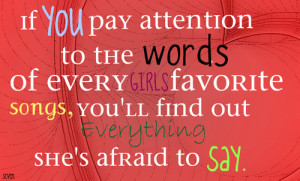 girl song #quotes #girls #songs