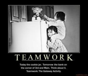 Teamwork Funny Images