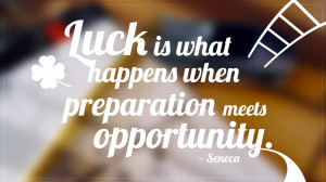You may think luck is a superstition, but there actually is a ...