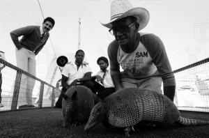 Neg Lot SS Chipper Boat Texan Jim Hightower hosting Texas style recept