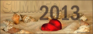 Sea Shells in the sand Summer 2013 Summer Time quote timeline cover