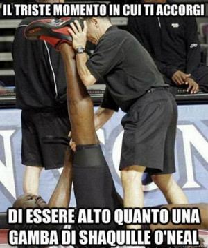 This entry was tagged foto divertenti , shaquille o'neal , sport ...