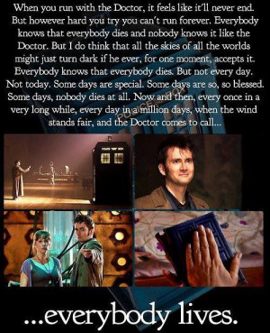favorite Doctor Who quote ever