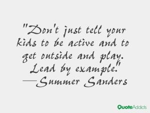 Summer Sanders