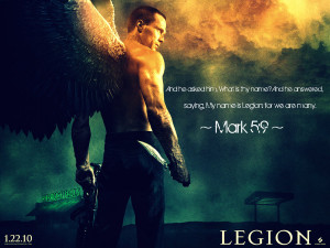 Legion Bible Legion movie wallpaper by