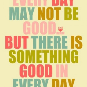 Daily reminder to stay positive!