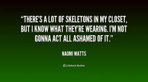 skeleton in your closet