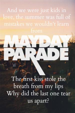 ... Mayday Parade Lyrics Stay Love, Kids In Love Mayday Parade, Mayday