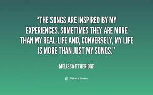 Melissa Etheridge Quotes