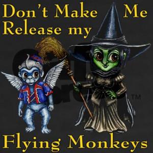 release_my_flying_monkeys_womens_vneck_dark_tsh.jpg?color=Black&height ...