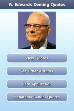 Edwards Deming Quotes