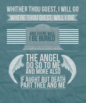 Just a lovely illustrated Parabatai oath. I like the blue-green colour ...