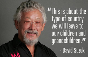 ... David Suzuki has been far more successful than he thinks. Photo: David