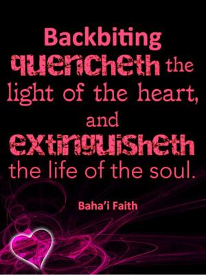 Baha'i Quote