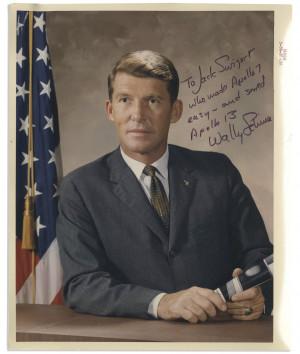 Wally Schirra Apollo 7