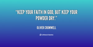 Keeping Faith in God Quotes