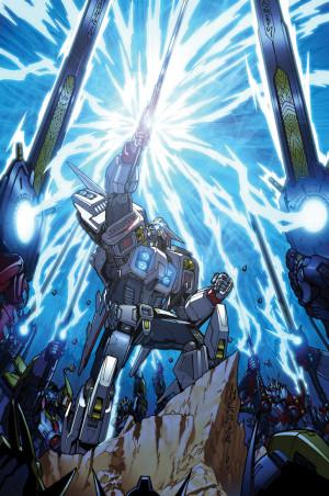 Transformers Drift #4 cover on Deviant Art.
