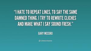 Gary Mccord