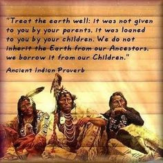 Native american Indian sayings