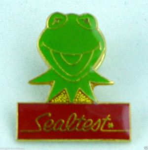 1989 Kermit the Frog Sealtest Ice Cream Pin