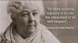 ... political equality is to rob the ostracised of all self-respect