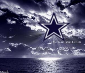 Cowboys Star Cowboy star over water