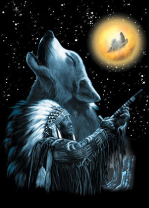 wolf moon buy wolves coyotes posters at allposters com night