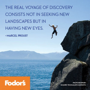 ... voyage of discovery'? If so, where was it? And what did you discover