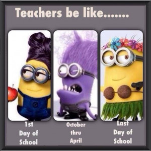Teacher be like Minion Meme