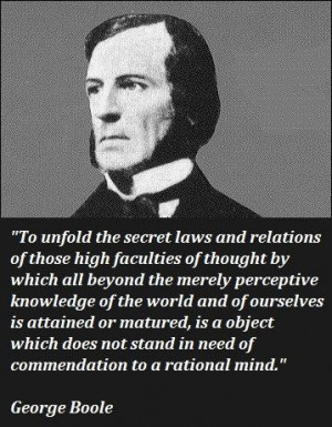 George boole famous quotes 4