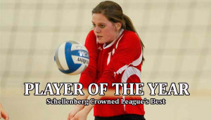 Volleyball Middle Hitter Quotes Hitter hannah schellenberg