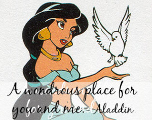 ... .com/quotes/disney-quotes.htm #Aladdin #DisneyPrincess #Disney #Love