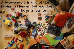 two year old, quote (Jerry Seinfeld)