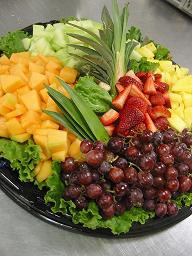 fruit platters I put out each