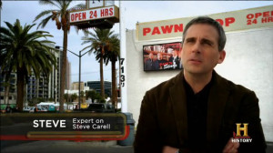 was steve carell on pawn stars
