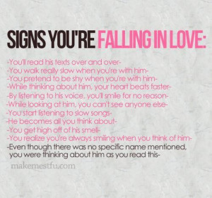 Falling in love so fast quotes