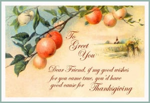 Meaning Thanksgiving Card Messages For Friends 2014