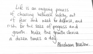 Abraham Maslow great #wholeness quote #authenticity #vulnerability