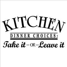 ... take it or leave it 12.5x25 Vinyl lettering wall sayings decal sticker
