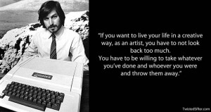 steve jobs creativity quote