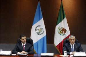 Coinciden Peña y Otto Pérez en necesidad de unir lazos de ...