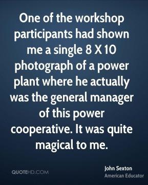 john-sexton-john-sexton-one-of-the-workshop-participants-had-shown-me ...