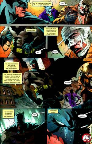 Although Hush Batman asks for help to stop the Joker the bat away ...