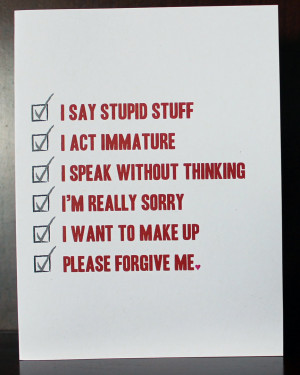 Im So Sorry Please Forgive Me Quotes I'm sorry greeting card