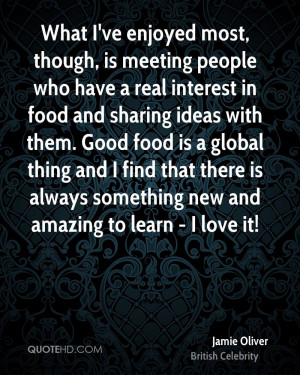 Jamie Oliver Love Quotes