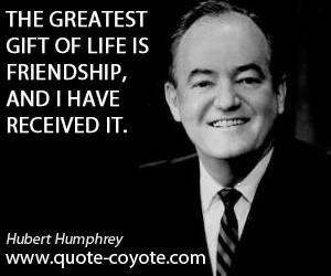 Hubert Humphrey quotes