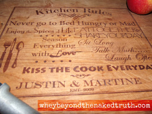 Add a Taylor Crafts' Cutting Board to Your Kitchen