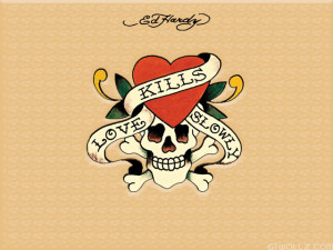Love Kills Slowly G1 Wallpaper